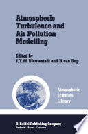 Atmospheric Turbulence And Air Pollution Modelling Book PDF