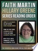 Faith Martin Hillary Greene Series Reading Order