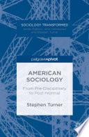 American Sociology