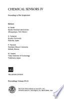 Chemical Sensors       Proceedings of the Symposium Book