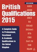 British Qualifications 2015