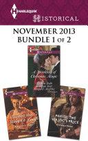Harlequin Historical November 2013 - Bundle 1 of 2