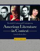 Twentieth-Century and Contemporary American Literature in Context [4 volumes] [Pdf/ePub] eBook