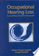 Occupational Hearing Loss  Second Edition