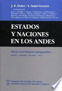 Estados y naciones en los Andes