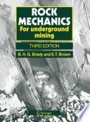 Rock Mechanics Book PDF