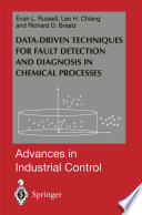 Data Driven Methods For Fault Detection And Diagnosis In Chemical Processes Book PDF