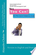 Yes You Can Diet Plan Quick Companion Guide (French Version)