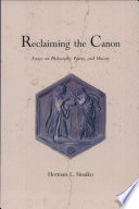 Reclaiming the Canon