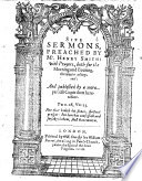 Sixe Sermons (The Sinners Conversion, etc.) ... with prayers, both for the morning and euening, thereunto adioyned: and published by a more perfect copie then heretofore