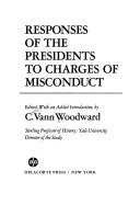 Responses of the Presidents to Charges of Misconduct