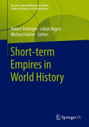Short term Empires in World History Book
