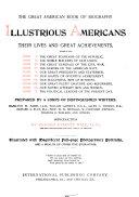 Illustrious Americans