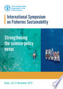 International Symposium on Fisheries Sustainability  Strengthening the science policy nexus Book