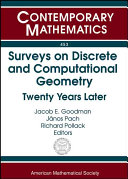 Surveys on Discrete and Computational Geometry