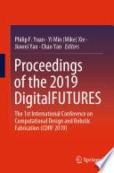 Proceedings Of The 2019 Digitalfutures