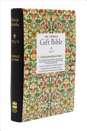 NRSV   The Catholic Gift Bible  Black  Imitation Leather