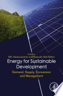 Energy for Sustainable Development Book