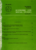 The Nigerian Journal Of Economic And Social Studies