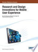 Research and Design Innovations for Mobile User Experience Book