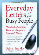 Everyday Letters for Busy People  Rev Ed
