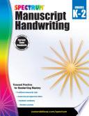 Spectrum Manuscript Handwriting  Grades K   2