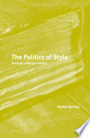 The Politics of Style