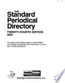 The Standard Periodical Directory  , Band 24