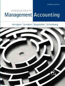 Cover of Introduction to Management Accounting