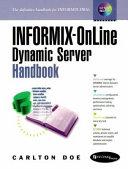 Informix OnLine Dynamic Server Handbook