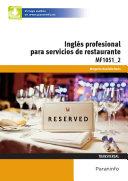 MF1051_2 - Inglés profesional para servicios de restauración