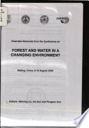 Extended Abstracts from the Conference on Forest and Water in a Changing Environment