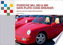 Porsche 964, 993 & 996 Data Plate Code Breaker