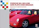 Porsche 964  993   996 Data Plate Code Breaker