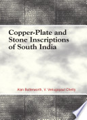 Copper-plate and Stone Inscriptions of South India