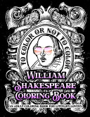 William Shakespeare Coloring Book   An Adult Coloring Book for Literary Lovers