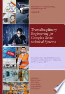 Transdisciplinary Engineering for Complex Socio-technical Systems
