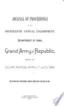 Journal of the     Annual Encampment