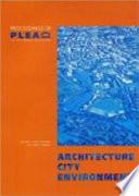 Architecture  City  Environment Book