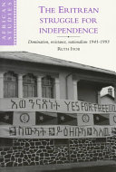 Pdf The Eritrean Struggle for Independence
