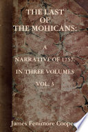 The Last of the Mohicans [VOL. 3]