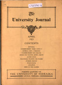 The University Journal Book