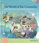 The World Of The Counselor Book PDF