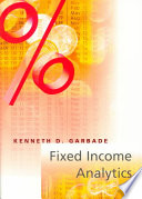Fixed Income Analytics Book PDF