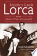 Federico Garc A Lorca And The Culture Of Male Homosexuality