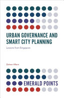 Urban Governance and Smart City Planning Book