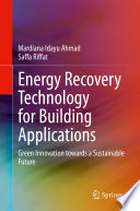 Energy Recovery Technology for Building Applications