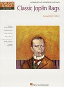 Classic Joplin Rags (Songbook) Pdf/ePub eBook