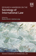 Research Handbook on the Sociology of International Law Pdf/ePub eBook