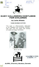 Easy Halloween Costumes for Children